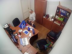 Office Secretary BlowJob Russian