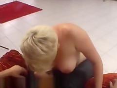 Original lapdance show by czech chubby lady
