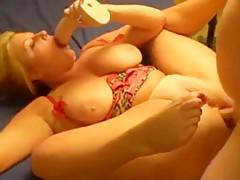 flexible bbw ass squirt mom mature anal dildo anus busty curvy cum