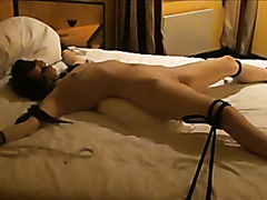 Maleen the small Norwegian whore in bondage