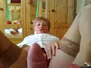 Teacher giving blowjob