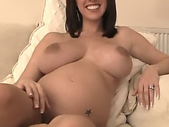 Hot mature sexy woman in action