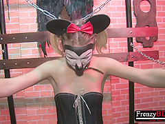 FrenzyBDSM Two Girls Sadistic Nipple Domination