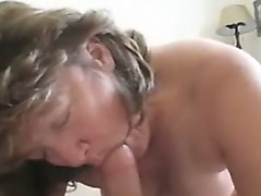 wife giving an oral stimulation