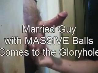 Married men gloryholes