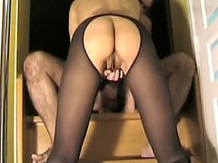 Hawt russian non-professional pair real homemade sex tap