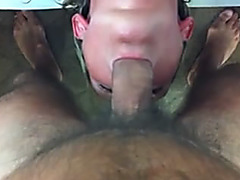 Home deepthroat mov with blonde lady