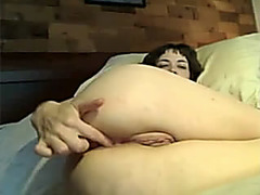 Dirty chick loves homemade anal sex