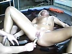 blonde oil pleasure