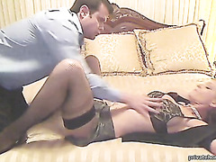 Horny couple doing some real and naughty sex video.