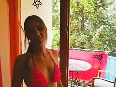 Notgeiles Teen auf dem Balkon gefickt /German porn 2014111614 Horny teen fucked on the balcony