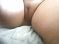 Rubbing my amateur fat pussy  with my skilled fingers