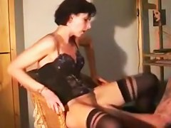 I am getting fisted in my amateur milf porn clip