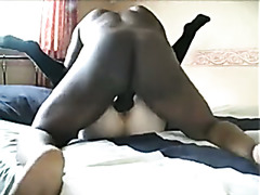 Real Hardcore Sex Video with White Woman and BBC
