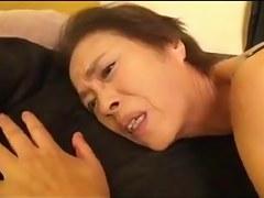 Slim 69yo Oriental Granny