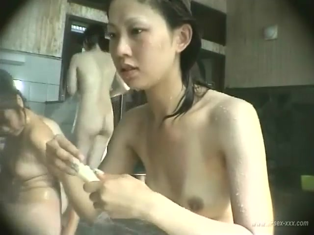 Japanese Wife The Public Bath