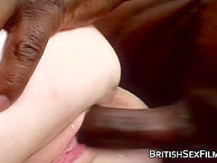 Black cock for white British amateur gals