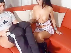 I am getting a head in this amateur couple sex vid