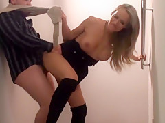 I am fucked in my homemade creampie porn video