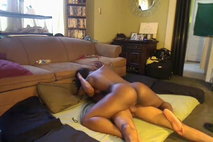 Ebony booty homemade