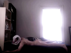 Gay anal with briefs on my head