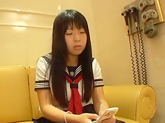 Adult claims aged less than a beauties .... Saito Yuki (Miku) eighteen-year-old
