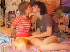 girl couple filmed for truth or dare