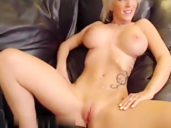 Girl with big tits and her amateur fucker