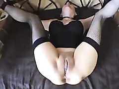 Wife takes a heavy anal fuck