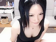 Crazy Amateur movie with Korean, Webcam scenes