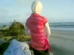 You Girls having sex on beach