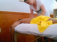 Sensuous asian chick gives a soapy massage and a proper handjob  1143689