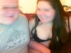 Fat nerd gets dared online to creampie his friend !!!
