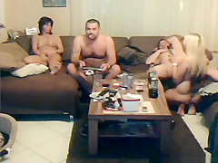 Swingers orgy fuck