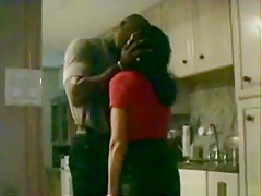 Husband tapes his cuckold wife getting a black creampie
