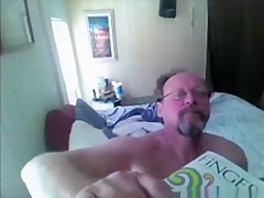 Old man naked woman