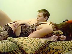 Homemade video with me and my BF enjoying ardent anal sex