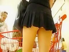 Tight mini skirt sex