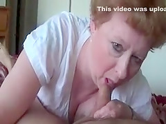 Cristina sucks uncut dick
