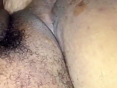 Fat hairy cunt getting fisted punch fucking