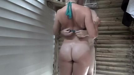 Women naked with dildo