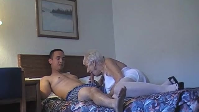 70 yr old granny with 20 yr old stud | hclips - private home clips