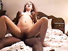 Wife humiliates cuck husband taking black ding-strapon.avi