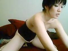 Getting nasty, masturbating in my homemade solo porn
