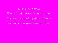 letizia vari 1993 2004