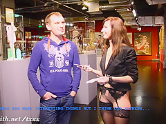 Jeny Smith naked interview at museum of sex