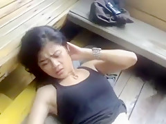 Korean schoolgirl self naked cam