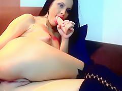 Depraved brunette Anne Angela