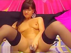 Cute brunette MissFamous