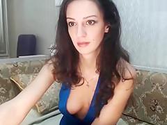 VitalinaStar took off her dress